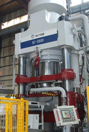 【耐火材料全自动液压机hc3600(图)】图片