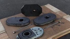 滑板、水口等钢包用耐火材料