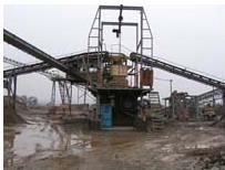 金矿石生产线