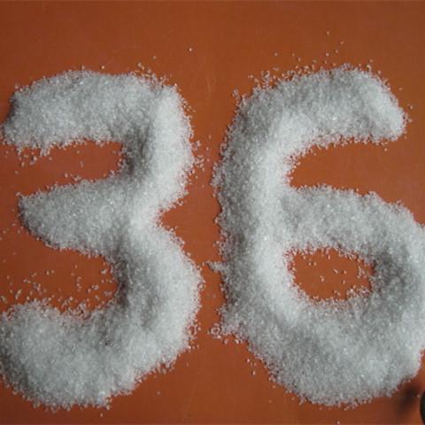 喷砂白刚玉/研磨用白色氧化铝砂