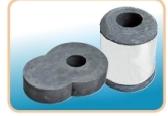 钢包用滑板砖