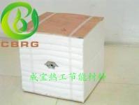 施工便捷的硅酸铝陶瓷保温模块