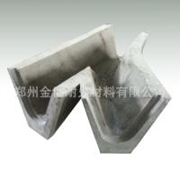 金属冶炼用流槽预制件